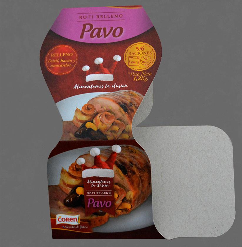 Coren – Pavo – Roti Relleno